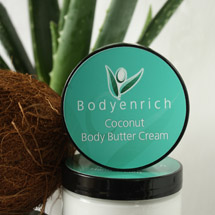 Image for Coconut Body Butter Cream - 99% natural